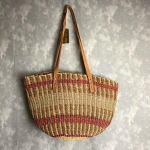 NWT magid vintage straw bag